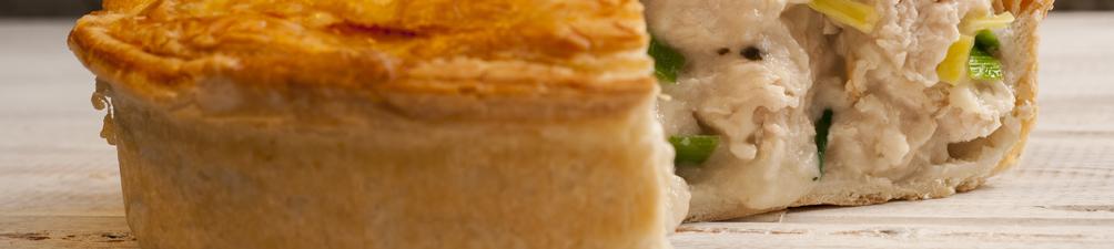 Chicken, Leek and Mushroom Pies