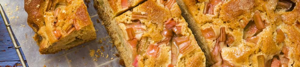 Rhubarb Spiced Cake