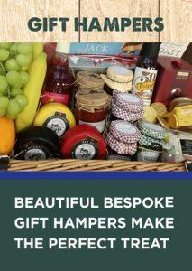 Beautiful, bespoke gift hampers make the perfect treat