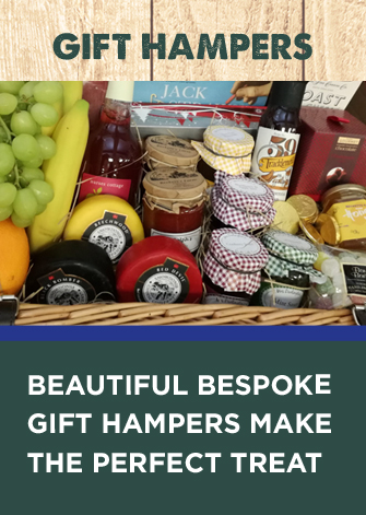 Beautiful, bespoke gift hampers make the perfect treat