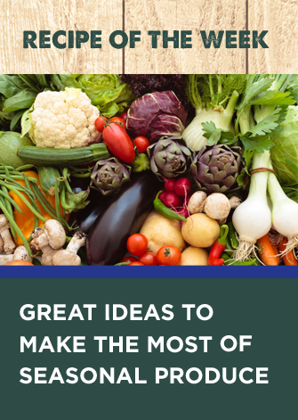 farm shop recipe of the week, great ideas to make the most of seasonal produce