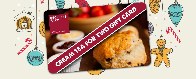 Cream Tea Voucher
