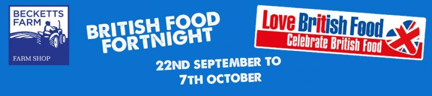 British Food Fortnight 2018