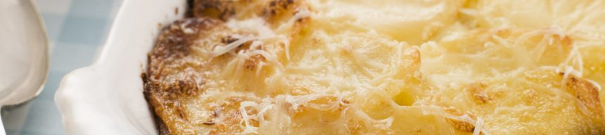 Creamy Parsnip and Squash Bake