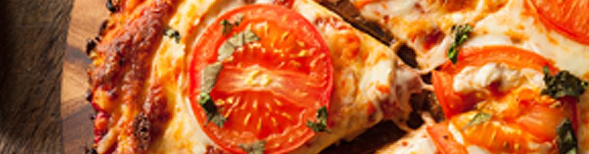 Cauliflower Crust Margherita Pizza