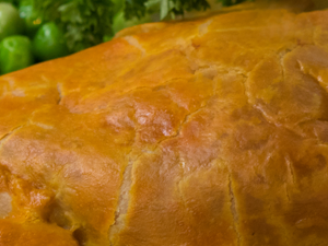 Vegetable and Stilton Pasties