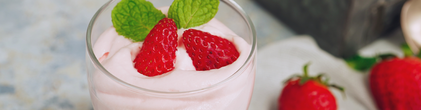 Strawberry Marshmallow Mousse