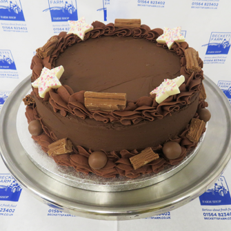 celebration cakes - chocolate