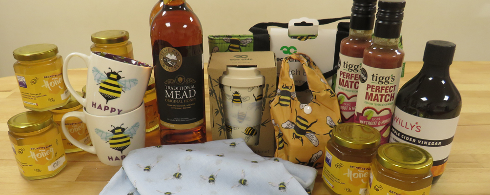 honey bee products together