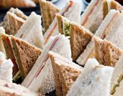 conference food sandwiches