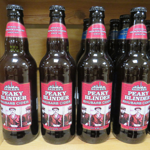 New products - Peaky Blinders cider