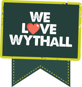 we love wythall becketts community fund logo tag