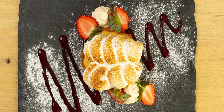 restaurant menus - lemon meringue