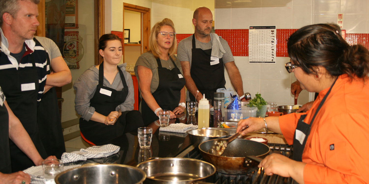 private cookery course