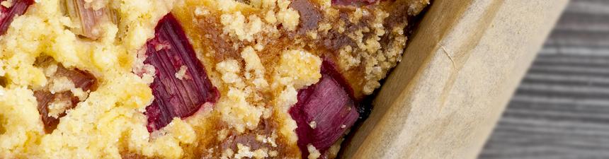 Spiced Rhubarb Cake