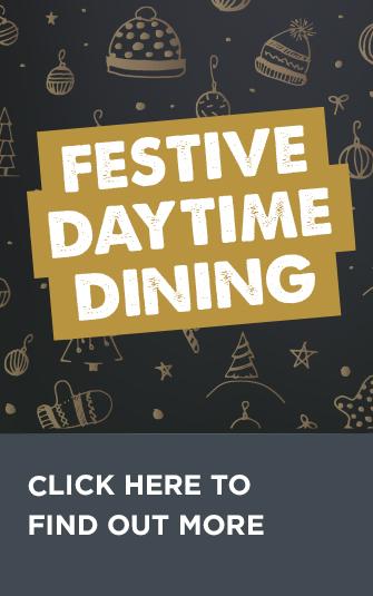 festive daytime dining